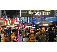 42nd Street - New York City Photographic Print