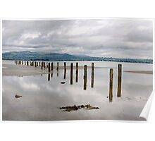 Cunnigar beach, Dungarvan, County Waterford, Ireland Poster