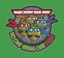 Angry Mutant Ninja Birds One Piece - Short Sleeve