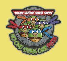 Angry Mutant Ninja Birds Baby Tee