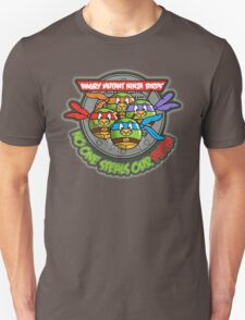 Angry Mutant Ninja Birds T-Shirt