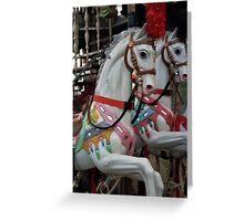 Carousel on the Boardwalk Greeting Card