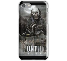 Until Dawn - Psycho Poster iPhone Case/Skin