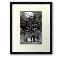 Until Dawn - Psycho Poster Framed Print