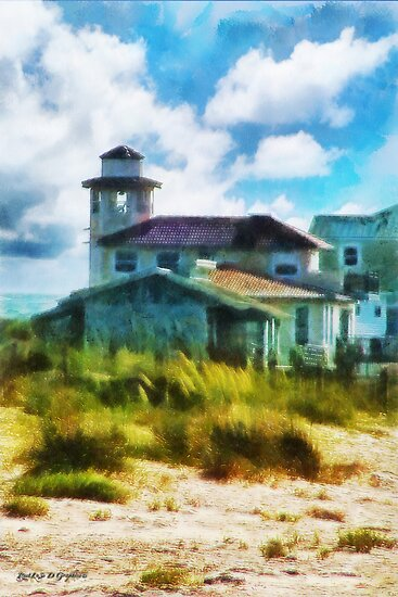 Simple Pleasures III ~ The Lighthouse Keeper by Rhonda Strickland