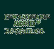 Android Boyfriend - pocket T-Shirt
