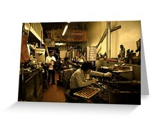 Golden Gate Fortune Cookie Factory Greeting Card