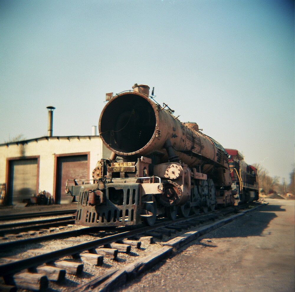 Vintage Railroad - New Hope, PA by jamiecwagner
