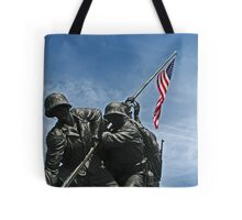 A Salute to our Marines Tote Bag