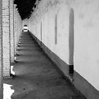 La Purisima Mission Hall by Inga McCullough