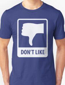 Thumbs Down, Don't Like T-Shirt