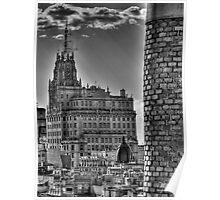Edificio Telefonica - Madrid Poster
