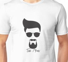 The Man-Gator Stache Unisex T-Shirt