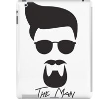 The Man-Gator Stache iPad Case/Skin