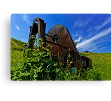 Rusty Gadget Canvas Print
