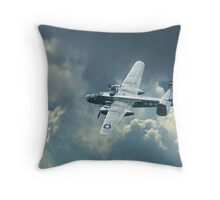 B-25 Mitchell Throw Pillow