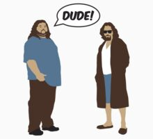 The Dudes (Lost / Big Lebowski Shirt)  One Piece - Short Sleeve