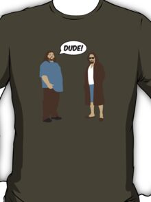 The Dudes (Lost / Big Lebowski Shirt)  T-Shirt