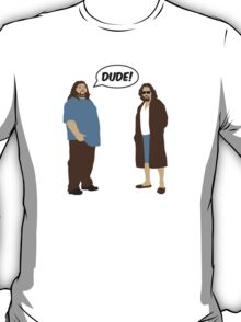 The Dudes (Lost / Big Lebowski Shirt)  T-Shirt