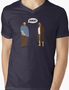The Dudes (Lost / Big Lebowski Shirt)  Mens V-Neck T-Shirt