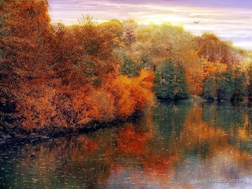 Autumn Reflections by Jessica Jenney