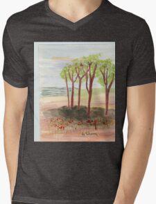 copes Mens V-Neck T-Shirt