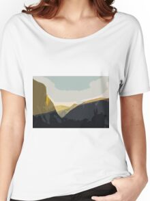 Layer Gold on El Capitan Women's Relaxed Fit T-Shirt