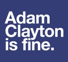Adam Clayton Is Fine by howsonisnow