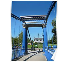 St Andrews suspension bridge, Glasgow Poster