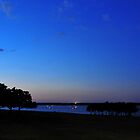Dusk at Grapevine Lake by plsphoto
