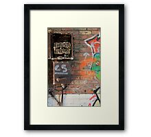 Broken Box Framed Print