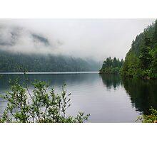 Kennedy Lake, Vancouver Island, BC, Canada Photographic Print