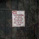 No trespassing! by BizziLizzy