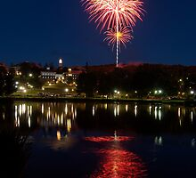 Small Town Fireworks by Stephen Beattie