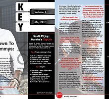 Mock Atlantic Records Magazine Layout by Danny Huynh