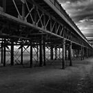 Under The Boardwalk 1 by Paul Shellard