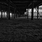 Under The Boardwalk 2 by Paul Shellard