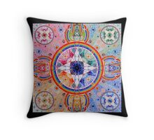 Inner Mandala Throw Pillow