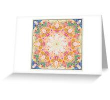 Mantra Mandala Greeting Card