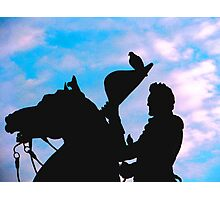 Statue of General Lafayette Photographic Print