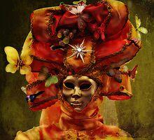 Venetian Carnival masquerade by Luisa Fumi
