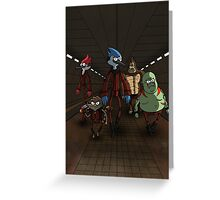 Guardians of the Regular Galaxy Greeting Card