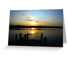 graYton beAcH suNRise series 10 Greeting Card