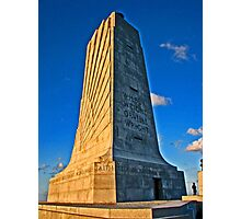Monument to Wilbur and Orville Wright Photographic Print