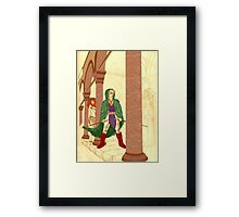 Coloured Conspiracy Framed Print