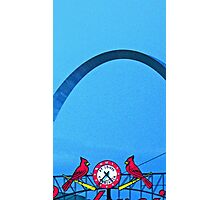 The Arch and the Cardinals Photographic Print