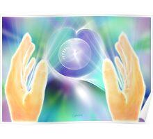 Distance Healing Poster