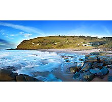 The Beach Shacks Photographic Print