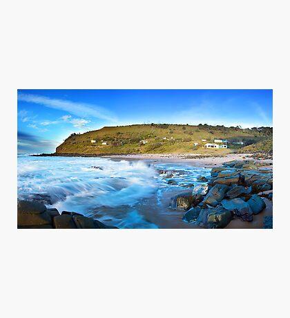 The Beach Shacks Photographic Print