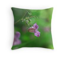 Common Hemp Nettle Throw Pillow